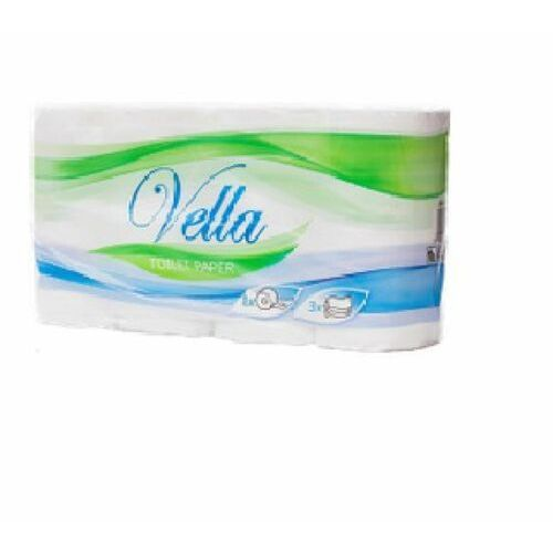 Papier toaletowy, Papier toaletowy VELLA 150 listków 3-warstwowy