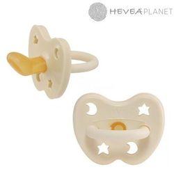 Anatomiczny smoczek kauczukowy, 0-3 msc, Księżyc/Gwiazdki Milky White, HEVEA