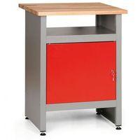 Stoły warsztatowe, Stół roboczy z zamykaną szafką i półką