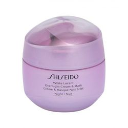 Shiseido White Lucent Overnight Cream & Mask krem na noc 75 ml dla kobiet