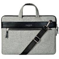Pokrowce, torby, plecaki do notebooków, Cartinoe torba na laptopa London Style Series 13,3 cala szara - Czarny \ 13.3