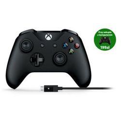 Gamepad MICROSOFT Xbox One + przewód dla systemu Windows