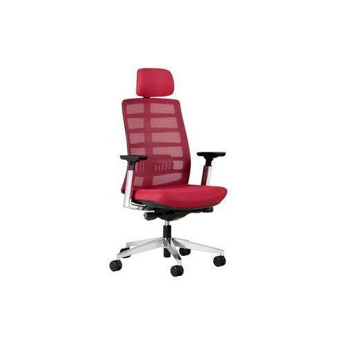 Fotele i krzesła biurowe, Fotel ECLIPTIC czerwony
