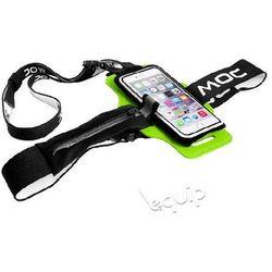 "Zestaw szelki na telefon MOC Chest Plate + etui Slip-In Bag 4,7"" - limonka"