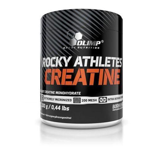 Kreatyny, Kreatyna Olimp Rocky Athletes CREATINE 200 g. Najlepszy produkt