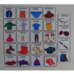 Ubrania / akcesoria - piktogramy Garderoba i akcesoria piktogramy