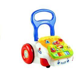 Chodzik pchacz dla dziecka grający odpinany panel