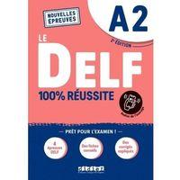 Książki do nauki języka, Delf a2 100% reussite podręcznik + zawartość online nowa formuła 2021 (opr. broszurowa)