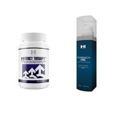 Mega Zestaw na Potencję Potency Therapy 60tab. + Potency Gel 100ml | 100% DYSKRECJI | BEZPIECZNE ZAKUPY RABAT -20%