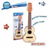 Instrumenty dla dzieci, Gitara akustyczna plastikowa 71 cm