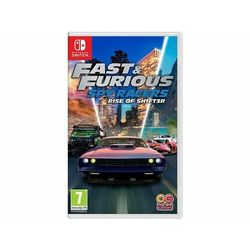 OUTRIGHT GAMES Fast & Furious Spy Racers Rise of Sh1ft3r (Narodziny Shiftera) Nintendo Switch