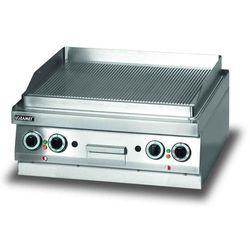 Płyta grillowa elektryczna, ryflowana, 6,8 kW, 700x650x270 mm | LOZAMET, LEG620