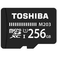Karty pamięci, Karta pamięci TOSHIBA MicroSD 256GBTHN-M203K2560EA