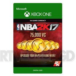 NBA 2K17 - 75000 VC [kod aktywacyjny]