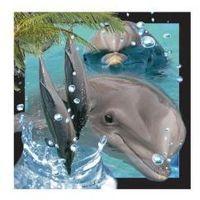 Pozostałe artykuły papiernicze, Pocztówka 3D Delfin