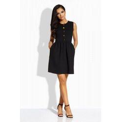 L203 czarna sukienka