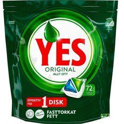 Yes - Original - Allt i Ett - kapsułki do zmywarki - 72 sztuki - 1129g
