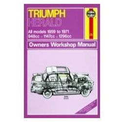 99489Triumph Herald (59 - 71) up to K Classic Reprint