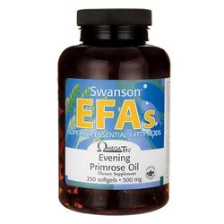 Swanson Evening Primrose Oil (Olej z nasion wiesiołka) 500mg 250 kaps.