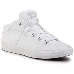 Trampki CONVERSE - Ctas Axel Mid 665596C White/White/White