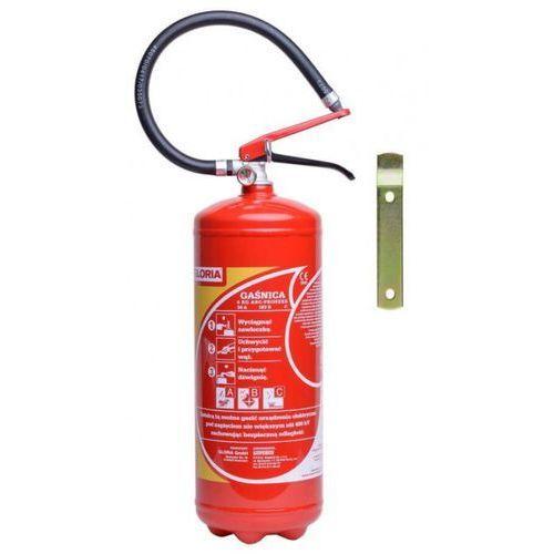 Sprzęt przeciwpożarowy, Gaśnica proszkowa 6 kg GLORIA PDE 6