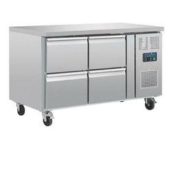 Stół chłodniczy 4 szuflady | 314L | -2 C do 8 C | R600a| 136x70x(H)86cm
