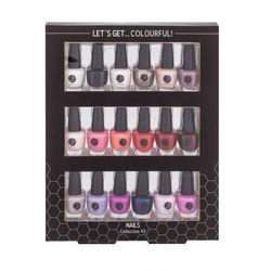 2K Let´s Get Colourful! zestaw Lakier do paznokci 18 x 3,5 ml dla kobiet