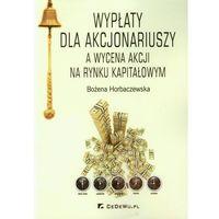 Psychologia, Wypłaty dla akcjonariuszy a wycena akcji na rynku kapitałowym (opr. miękka)