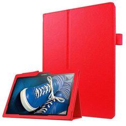 Etui Stand Cover Lenovo Tab2 A10-30/Tab 10 TB-X103 F/L Czerwone - Czerwony