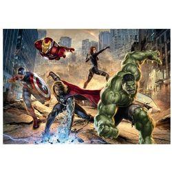 Avengers Street race Marvel - fototapeta