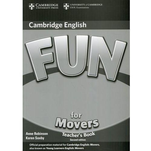 Książki do nauki języka, Fun for Movers (2nd Edition) Teacher's Book (książka nauczyciela) (opr. miękka)
