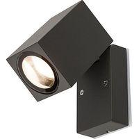 Lampy ścienne, Kinkiet Nowodvorski Primm 9551 lampa ścienna ogrodowa 1X10W GU10 IP54 grafit