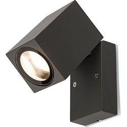 Kinkiet Nowodvorski Primm 9551 lampa ścienna ogrodowa 1X10W GU10 IP54 grafit