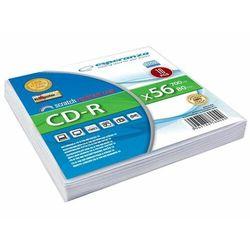 ESPERANZA PŁYTA CD-R 700 MB ESPERANZA koperta 10 sztuk