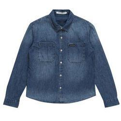 Calvin Klein Jeans Koszula 'DENIM SHIRT WASHED BLUE RGD' niebieski denim