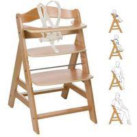 Krzesełka do karmienia, HAUCK Krzesełko do karmienia Alpha Plus kolor naturalny