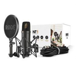 Rode NT1 Kit studyjny mikrofon pojemnościowy z akcesoriami Płacąc przelewem przesyłka gratis!