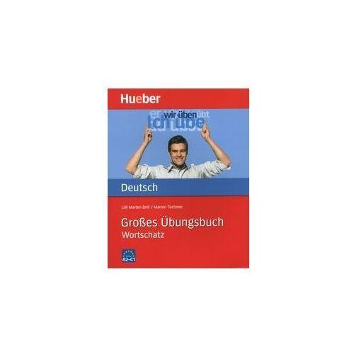 Książki do nauki języka, Grosses Ubungsbuch Deutsch Wortschatz (opr. miękka)