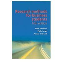 Biblioteka biznesu, Research Methods for Business Students