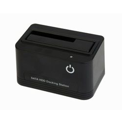 Gembird Stacja dokująca SSD SATA 2.5 cala+3.5 cala USB 2.0