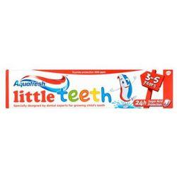 AQUAFRESH 50ml Kids Little Teeth Pasta do zębów dla dzieci 3-5 lat