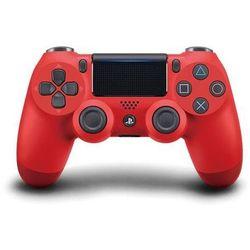 PS4 Dualshock 4 czerwony V2