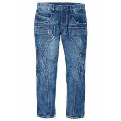 Dżinsy Regular Fit Straight bonprix niebieski denim