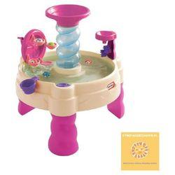 Little Tikes wodny stół Piaskownica różowa Spiralna Fontanna ❤STREFADZIECIAKOW.PL❤