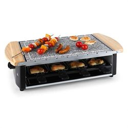 Klarstein Chateaubriand grill raclette płyta kamienna 8 osób 1200 watów Zamów ten produkt do 21.12.16 do 12:00 godziny i skorzystaj z dostawą do 24.12.2016