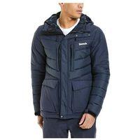 Odzież do sportów zimowych, kurtka BENCH - Puffa Dark Navy Blue (NY022) rozmiar: M