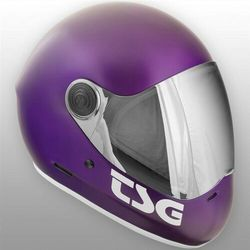 kask TSG - Pass Solid Color Satin Purple (216) rozmiar: M