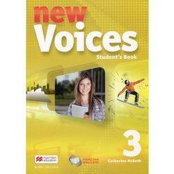 New Voices 3 Książka ucznia (wersja wieloletnia) - McBeth Catherine (opr. miękka)
