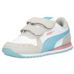 PUMA Trampki 'Cabana Racer SL V PS/V I' niebieski neon / różowy pudrowy / biały