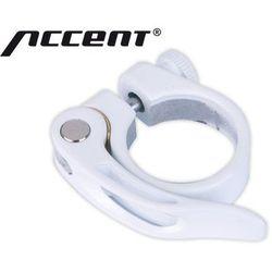 610-00-771_ACC Obejma podsiodłowa z zaciskiem Accent X-Country 34,9 mm biała